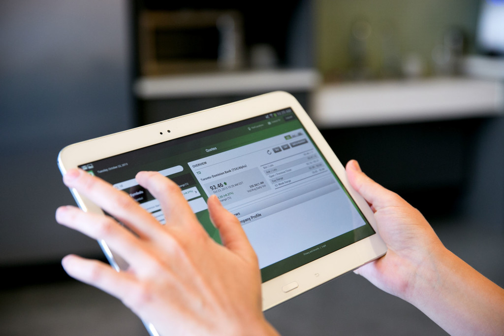 TD BANK GROUP - TD launches tablet banking app for Android